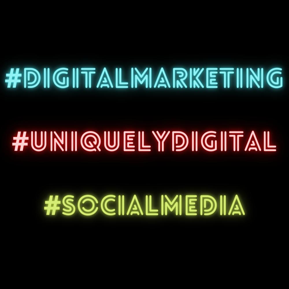come usare gli hashtag - Uniquely Digital