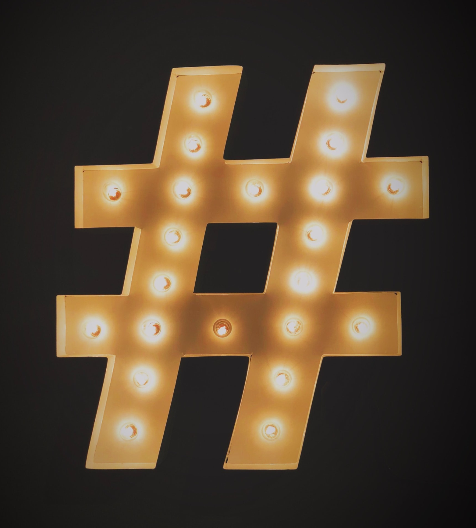 Gli hashtag nel social media marketing - Uniquely Digital